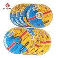 115mm Metall & Edelstahl Trennscheiben Trennscheiben Klappe Schleifen schleifen Discs Winkel Grinder Rad 5Pcs  50Pcs-in Sägeblätter aus Werkzeug bei