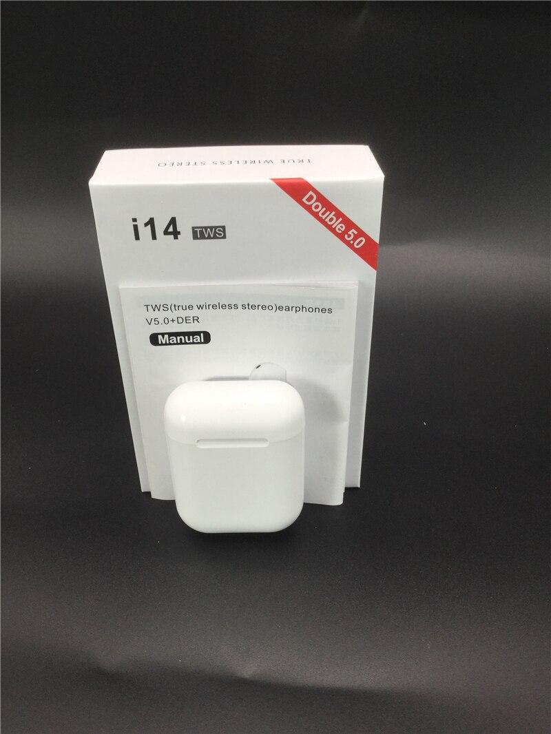 Original i14 tws fones de ouvido sem fio bluetooth fone invisível para o telefone inteligente pk i11 i12 i7s i20 i60 i30