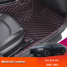 Foot-Mat Kia K5 Internal-Accessories Auto-Cargo-Liner-Mat Custom for Pad Car-Styling