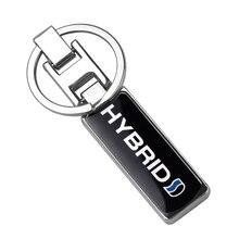 Metal Keychain Key-Ring Emblem-Badge Keyring-Decoration-Accessories Logo Car-Styling