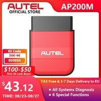 Autel ap200m obd obd2 bluetooth scanner ferramenta de diagnóstico do carro obdii pk thinkdiag easydiag 3.0 md802 ap200 cr319 obd 2 diagnóstico