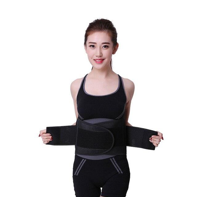 Waist Trainer Belt Support for Women & Man Waist Cincher Trimmer Weight Loss Ab Belt Slimming Body Shaper Sweat Belt 4