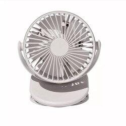 SOLOVE Clip on wentylator 360 stopni obracanie Mini 3 prędkość Handheld USB wentylator elektryczny dla akademik biuro w domu|Wentylatory|AGD -
