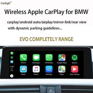 Полностью подключи и играй телефон Android Авто AirPlay Miracast CarPlay декодер для BMW F10 F11 G30 F06 F12 F13 транспортных средств