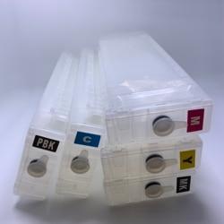 YOTAT kartridż na tusz do ponownego napełniania T7280 T5280 T3208 do drukarki Epson SureColor T 7280 T 5280 T 3208 z trwałym chipem w Tusze do drukarek od Komputer i biuro na