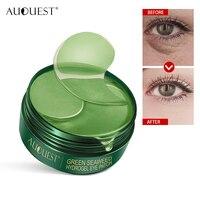 AUQUEST 60 stücke Eye Patches Maske Kollagen Augenklappe Natürliche Feuchtigkeits Anti-falten-Aging Entfernen Augenringe Auge Tasche Haut pflege