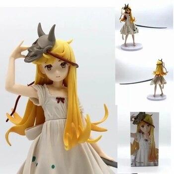 21 CM EXQ Monogatari Oshino Shinobu Action Figure Bakemonogatari Shinobu Figure Anime Lover PVC Collectible Model Toys