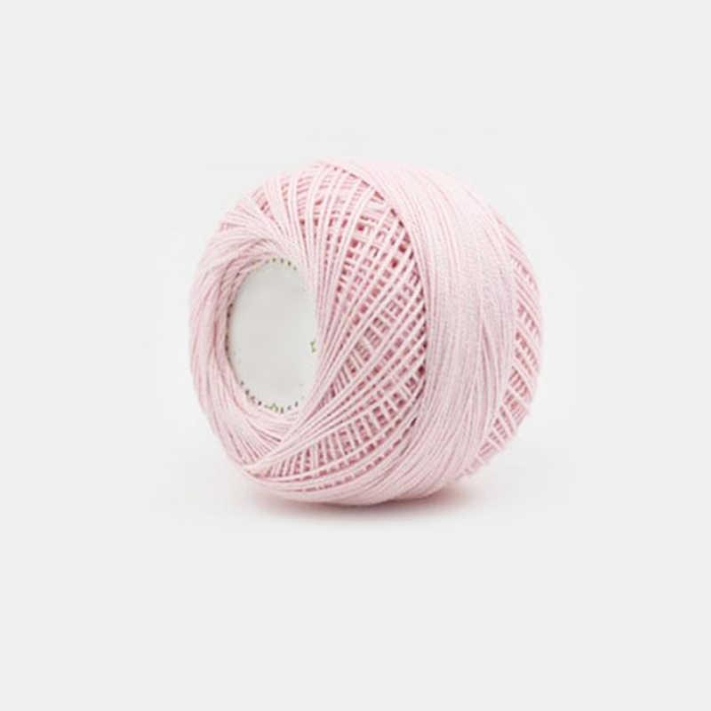 50G 1.5Mm 레이스 진주 광택 셔틀 라인 저렴한 솔리드 컬러 코튼 스레드 얇은 뜨개질 스웨터 크로 셰 뜨개질 무료 배송