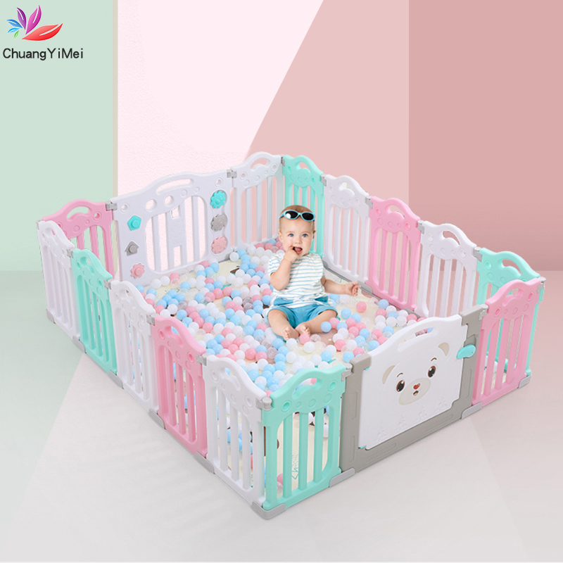Baby Playpens Fencing For Children Kids Activity Gear Environmental Protection Barrier Game Safety Fence Toy Pool Ball Play Yard
