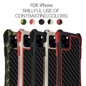 Image 5 - Противоударный армированный чехол для телефона для Apple iphone 11 Pro Max X 8 7 6Plus 5, роскошные жесткие чехлы для iphone XS XR XS Max, оболочка