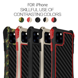 Image 5 - R JUST etui wstrząsoodporne etui na telefony dla Apple iphone 11 Pro Max X 8 7 6Plus 5 5S luksusowe twarde futerały dla iphone XS XR XS Max Coque