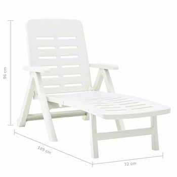 Outdoor Sun Lounger Folding Sunbed Easily Move Plastic Leisure Folding Chair Sun Lounger Grain Nap Beach Chair Lounge Recliner