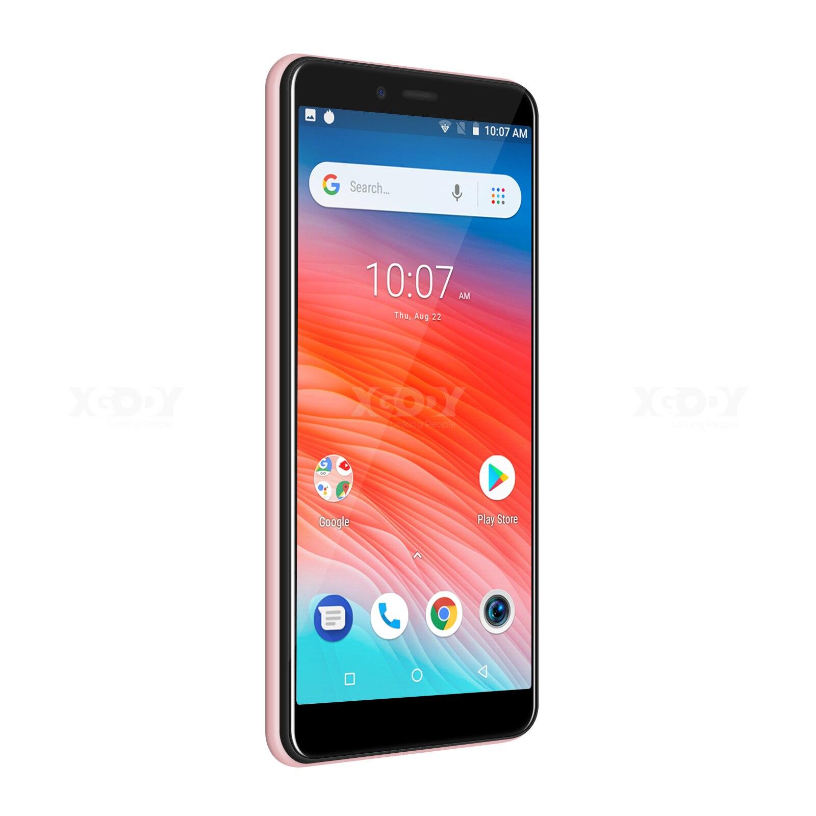 M-HORSE 3G Smartphone Android 8.1 2800mAh téléphone portable 1GB + 16GB Quad Core 5.45 pouces 18:9 plein écran 8MP double caméra téléphone Mobile - 3