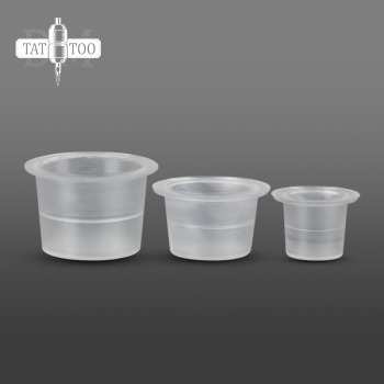 1000pcs Tattoo Ink Cups Professional Tattoo Supplies Plastic Transparent Pigment Cups