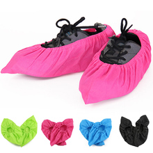 1 Pair Non-woven Shoe Covers Washable Reusable Thickened Antiskid Boot For Household Children Adult