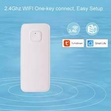 Беспроводной wi fi детектор утечки воды для дома безопасности