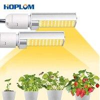 220 v e27 성장 조명 전구 45 w 전체 스펙트럼 sunlike 성장 램프 일광 교체 식물 조명 전구에 대 한 램프 전구를 성장