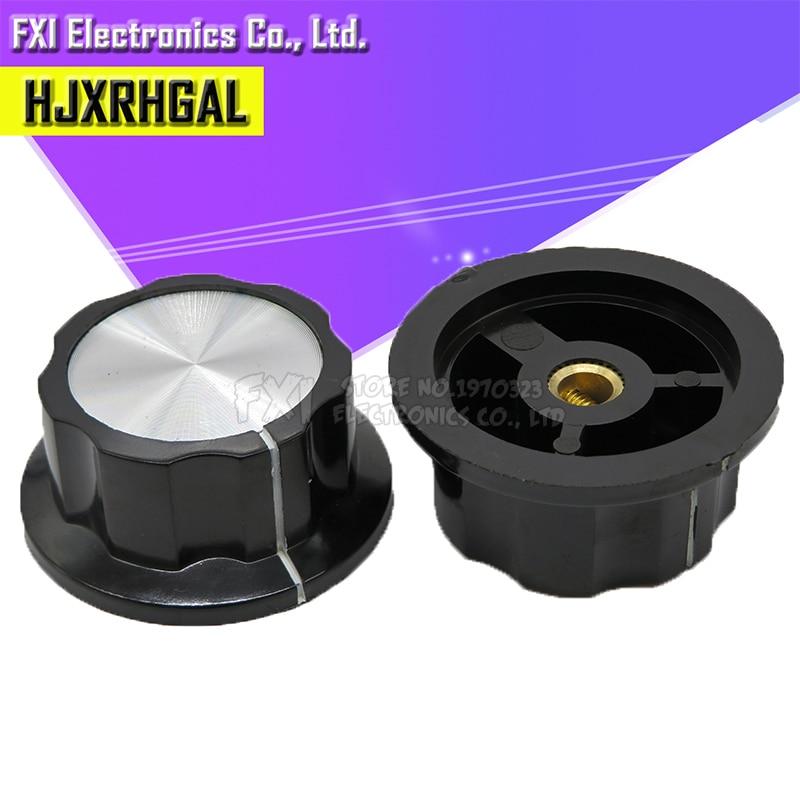2pcs Hat MF-A05 Potentiometer Knob WH118 WX050 Bakelite Knob Copper Core Inner Hole 6mm