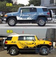 Car Sticker FOR TOYOTA Land Cruiser FJ Door Body Exterior Decoration Refit Film Cruiser FJ Sports Off Road Sticker