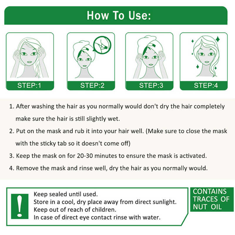 التلقائي التدفئة البخار قناع الشعر الكيراتين إصلاح الجاف التالفة تجديد مكافحة فقدان الشعر ترطيب زيت مغذي