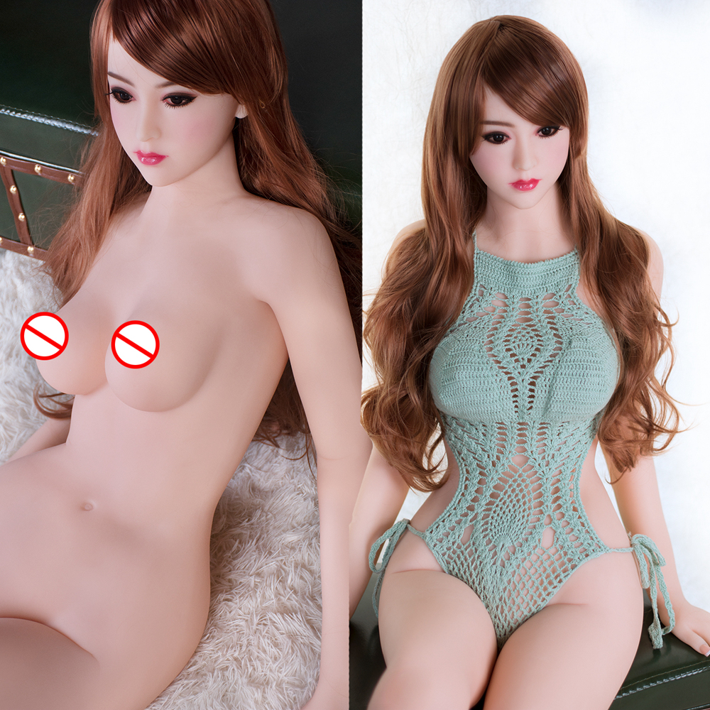 Realistic <font><b>158</b></font> <font><b>CM</b></font> <font><b>Sex</b></font> <font><b>Dolls</b></font> for Men Silicone Asian Adult <font><b>Doll</b></font> Big Breast Big Ass Lifelike <font><b>Sex</b></font> Toy image