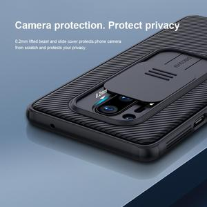 Image 3 - OnePlus 8 Pro Camera Protection Case For Oneplus8 Pro Case NILLKIN Slide Protect Cover Lens Protection Case on One Plus 8 Pro