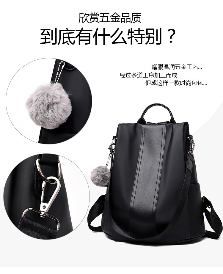 Hd38135b000164368be4fdf408467c594F 2019 Women Leather Anti-theft Backpacks High Quality Vintage Female Shoulder Bag Sac A Dos School Bags for Girls Bagpack Ladies