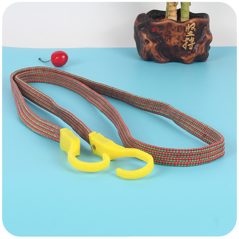 A553 Plastic Head Leather Strap Bicycle Motorcycle Bandage Cloth Elastic Bandage 2 Yuan Shop Binding Rope Motorcycle Luggage Str