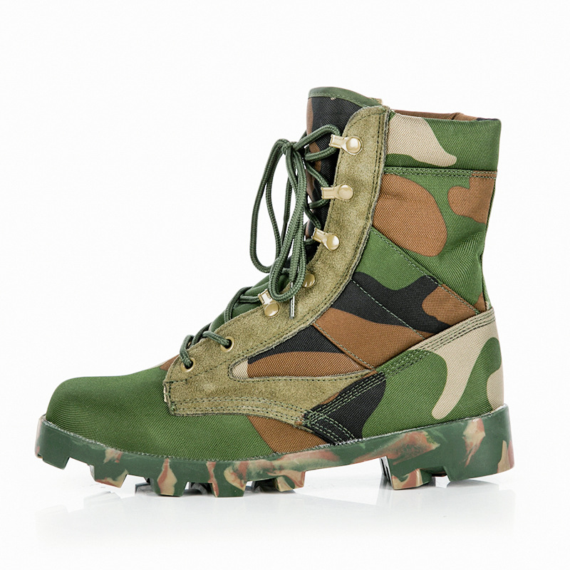Ultra-Light Camouflage Special Spring And Summer-Combat Boots Tactical Boots Desert Boots 07 Combat Boots Low Top Combat Boots J