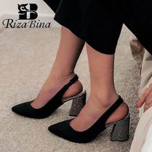 RIZABINA Plus Size 32-46 Women Pumps New Spring High Heels Shoes