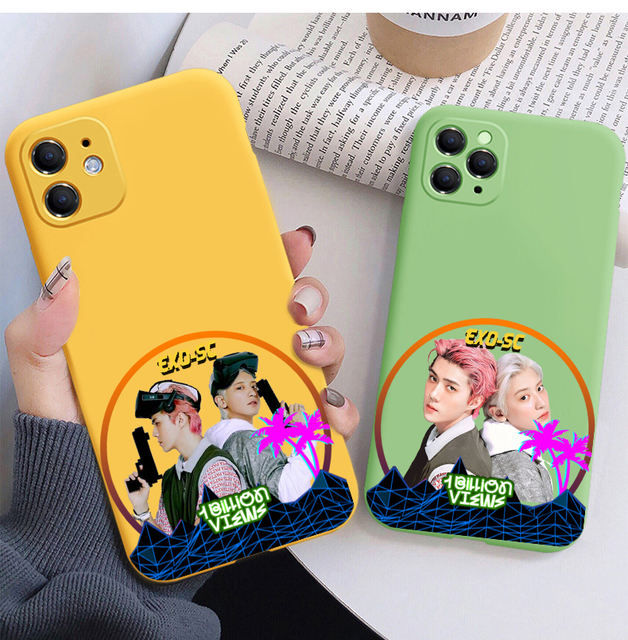 EXO-SC ALBUM 1 BILLION VIEWS THEMED IPHONE CASE