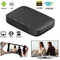 1080P 2.4G/5G Wireless HDMI Cable Wifi Display Dongle TV Stick Mirror Screen Miracast Airplay DLNA HDTV Adapter for iOS Android