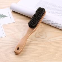 Wood Handle Hair Brush set Hard Boar Bristle Combs Styling For Men Women Hairdressing Hair Styling Beard Comb Brush Straight