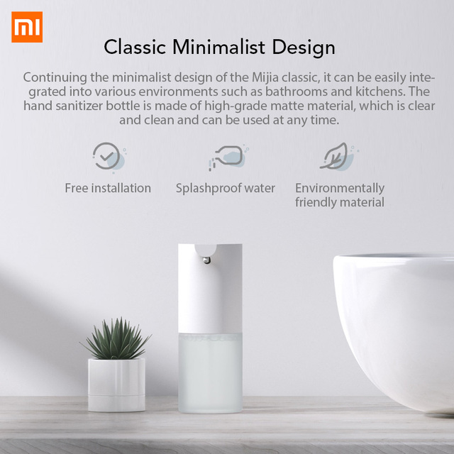 Xiaomi Mijia Hand Washer Automatic Induction Foaming Smart Wash Soap Dispenser Infrared Sensor Liquid Soap Dispensers Home 6