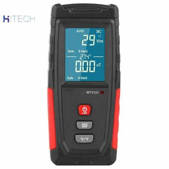 LCD Digital EMF Meter WT3121  Detector Electromagnetic Field Radiation Tester 2 4ghz rf power meter active logarithmic detector high frequency field strength tester