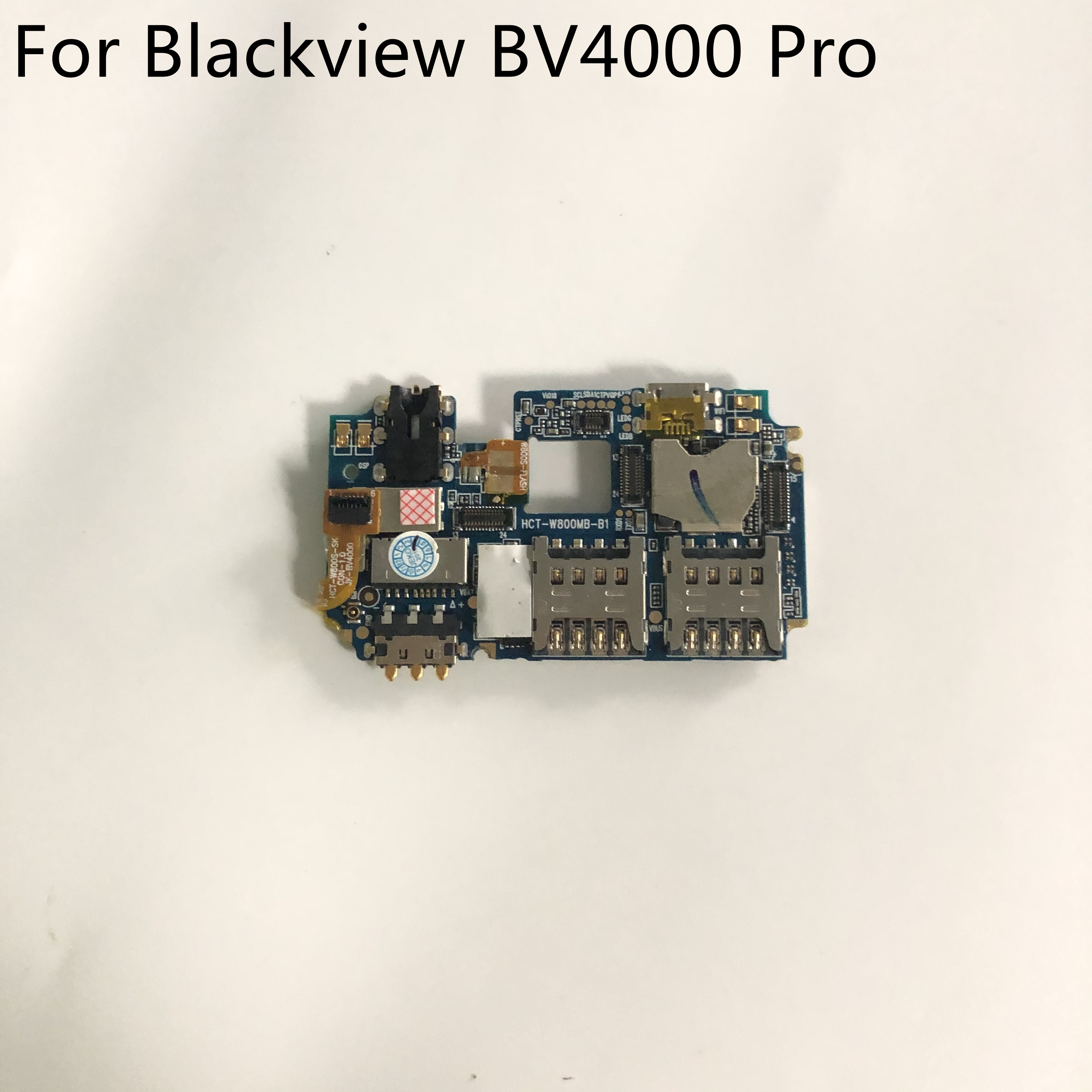 Blackview BV4000 PRO Used Mainboard 2G RAM+16G ROM Motherboard For Blackview BV4000 PRO 6580A Quad-Core 4.7 Smartphone