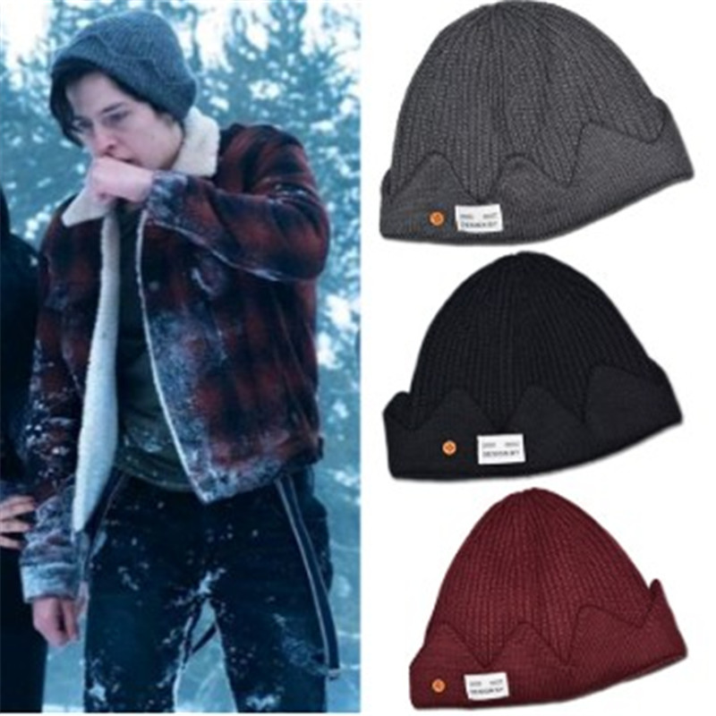 Riverdale Archie Betty Cosplay Halloween Party Beanie Prop Knit Cap Hat Costume Unisex Christmas Gift