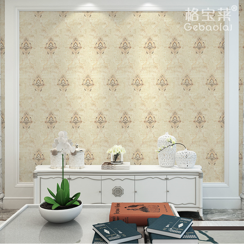 Manufacturers Direct Selling European Style Living Room Embroidered Wall Covering Fabric Northern European-Style Light Luxury Wa