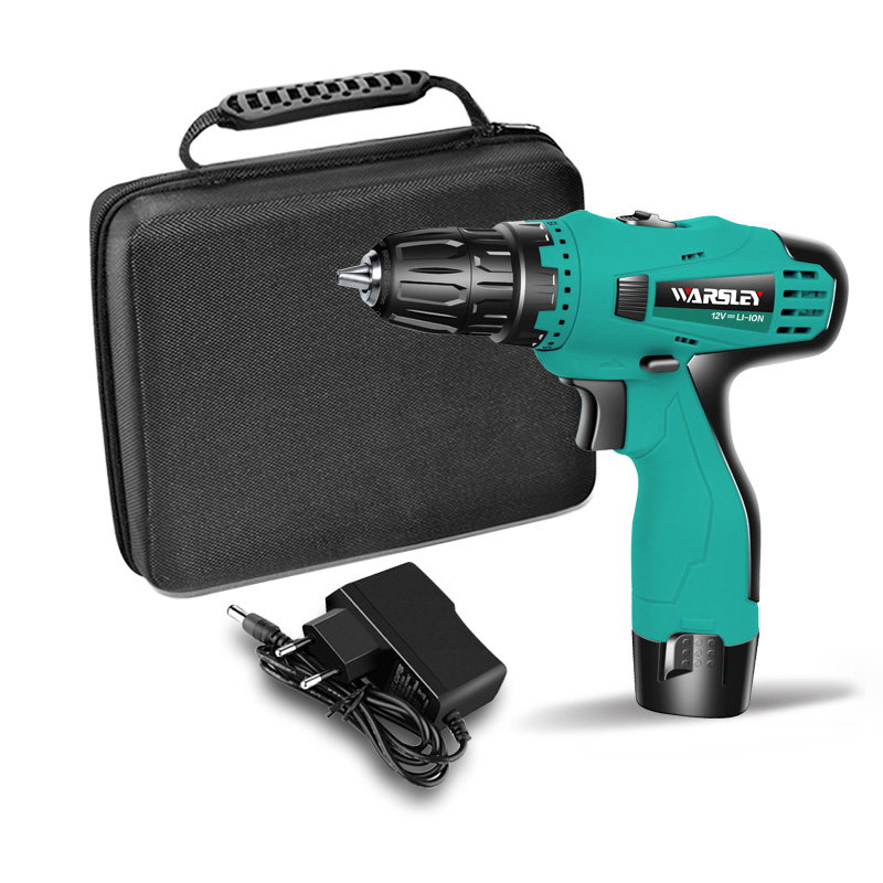 12V Cordless Electric Screwdriver Mini Electric Drill Rechargeable Parafusadeira Furadeira Multi-function Rotary Power Tools