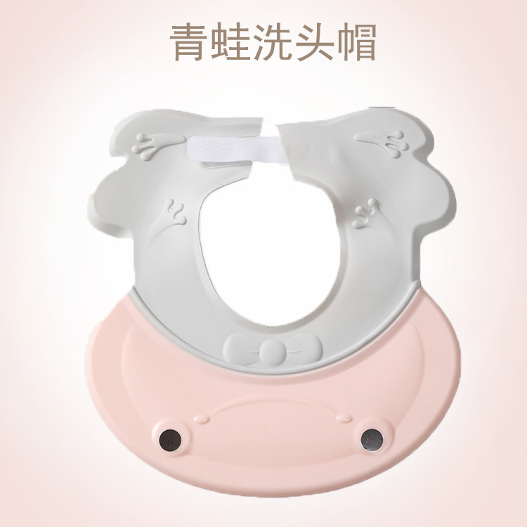 Extra-large Earmuff Shower Cap Children Shampoo Cap Kids Silica Gel Shower Cap Baby Waterproof Shampoo Cap Shower Cap