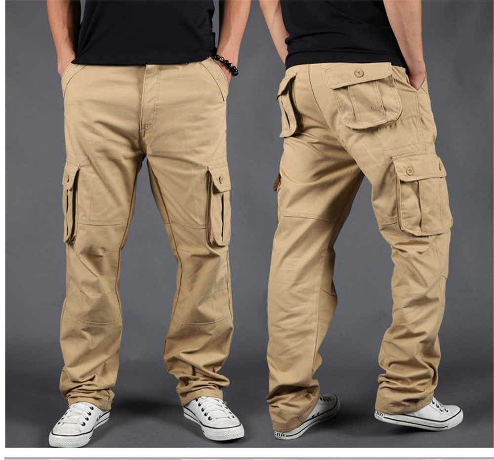 Side Zipper Pockets Cargo Harem Joggers Pants Men 2021 Tactical Casual Harajuku Streetwear Sweatpant Trousers Male Pants baggy