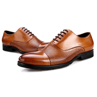 Wincheer 2019 New Summer Autumn Leather Men Shoes Fashion Casual Shoes Lace Up Formal Business Wedding Dress Shoes Big Size
