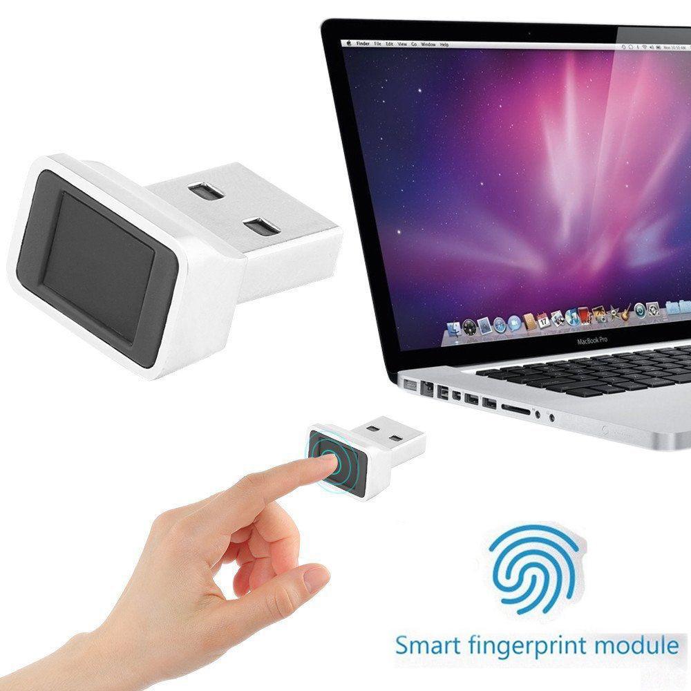 Mini Reader Laptop Office USB Interface Capturing Computer Fingerprint Scanner Security Key Sensor Identification For Windows 10