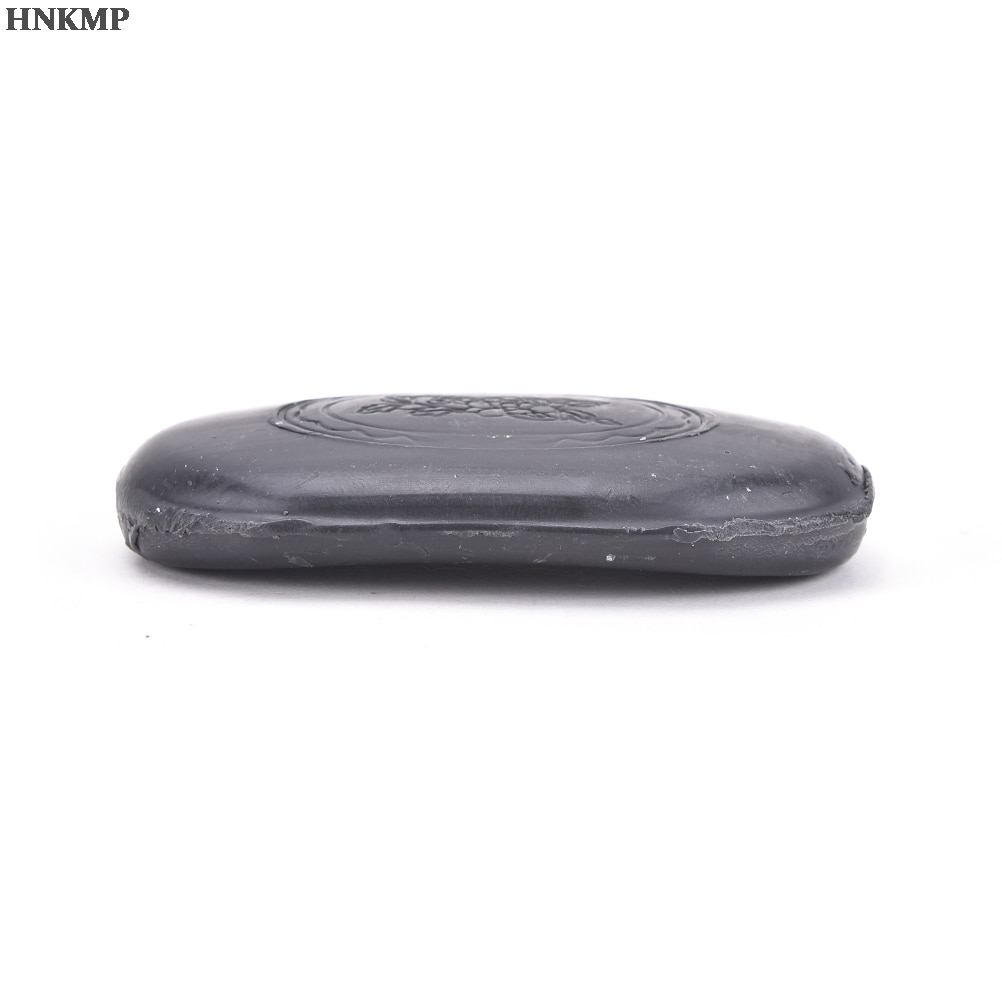 1Pc Active Energy Black Bamboo Charcoal Soap Face&Body Clear Anti Bacterial Lighten Freckles Beauty&Health Care Tourmaline Soap 5