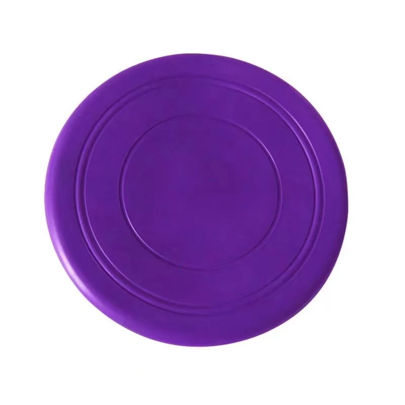 Colorful Toy For Puppy Dog Saucer Games Dogs Toys Large Pet Training Flying Disk Accessories French Bulldog Pitbull Cheap Goods 9