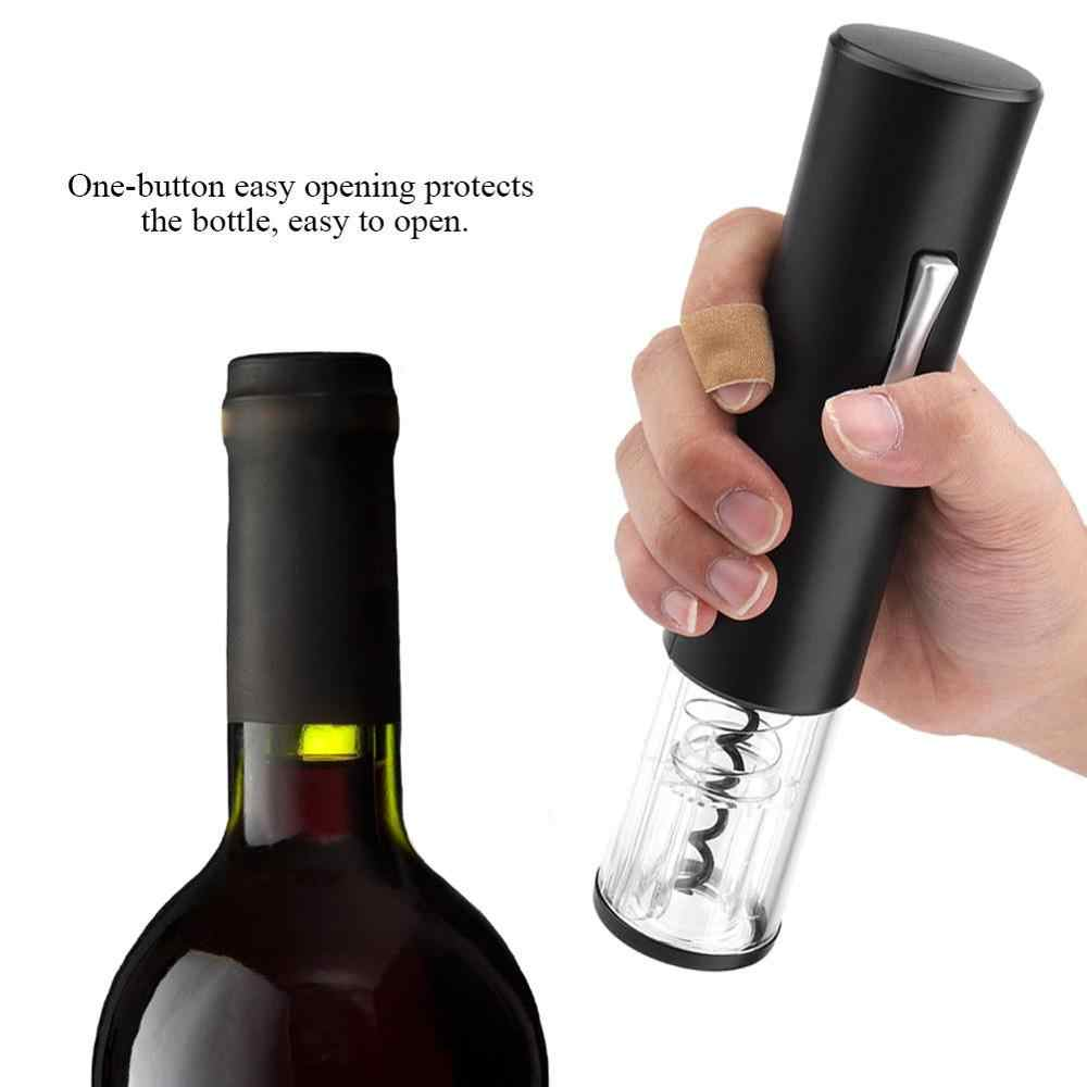 Household  Electric Wine Opener Bottle Opener Corkscrew Corkscrew Automatic Wine Bottle Opener Kit (Battery Not Included)