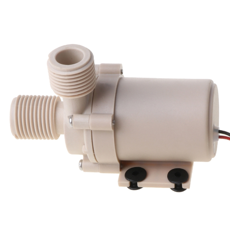12V/24V DC Solar Hot Water Circulation Pump Brushless Motor Water Pump 5M 3M New