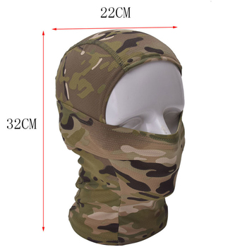 Multicam CP Camouflage Balaclava Full Face Mask Wargame Cycling Hunting Army Military Helmet Liner Tactical Gear Airsoft Militar 1