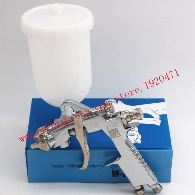 Ручной пистолет распылитель W101 134g HVLP, 0,8/1,0/1,3/1,5/1,8 мм, 400 мл, мебель, автоматическая покраска, автомобильный пистолет распылитель