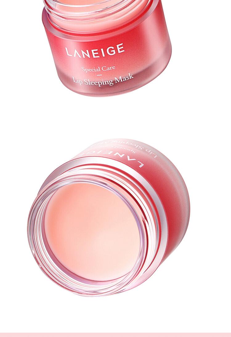 Laneige Lip Sleeping Mask Berry 20g Lip Moisturizer Skin Care 4